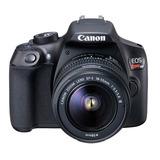 Cámara Canon T6 Con Lente 18-55mm Nuevas Garantía Miraflores