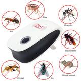 Repelente Electronico 7 En 1 Zancudos Ratas Arañas Bichos