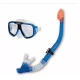 Snorkel Gafas - Buceo Colores(rojo-azul-violeta) -stock