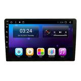 Auto Radio 1 Din Android 9 Pulgadas Fhd Wifi Gps  Semi Curvo