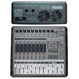 Mezcladora Amplificada Lexsen Lx 860 Usb::. 650w X 2
