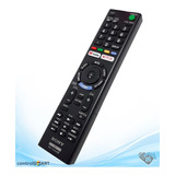 Control Smart Tv Sony Bravia Rmt-tx300b Youtube Neflix Nuevo