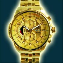 dd4584d1cca0 Reloj Casio Edifice Dorado Ef-558fg Original Sellado en venta en por ...