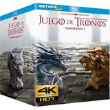 Game Of Thrones 4k Serie Completa |digital Entrega Inmediata