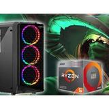 Cpu Gamer Amd Ryzen 5 3600 + Gtx 1650 4gb+8gb 3200
