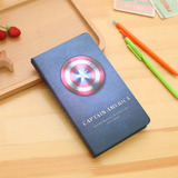 Libreta Superhéroes Capitan America (marvel,cuaderno,regalo)