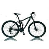 Bicicleta Montañera Doble Suspensión Aro 29 - Black Mate
