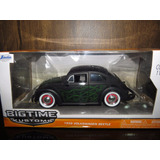 Perudiecast Vw Volkswagen Beetle 1959 Escarabajo Jada 1:24
