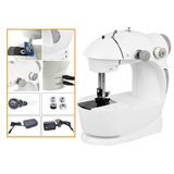 Maquina De Coser Portatil Mini Sewing Machine 220v Y Pilas