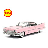 Auto Escala Cadillac 1959 De Ville Jada Diecast 1/24 Sku:333