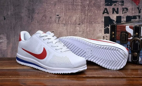 buy online 67419 613f0 Zapatillas Nike Cortez Originales 100% Blanco   Rojo 270 Air