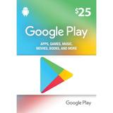 Google Play 25$ Gift Card Us Oferta