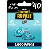 1000 Pavos En Fortnite