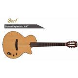 Guitarra Electroacustica Cort Sunset Nylectric Nat