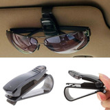 Clip Sujetador Lentes Gafas  Autos Carro Sujeta Tapasol