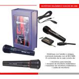 Super Microfono Profesional Karaoke Inalambrico + Cable