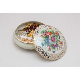 Limoges Porcelana Francesa Joyero Gout De Villes