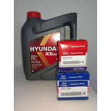 Aceite Hyundai Xteer Sintetico + Filtro De Aceite