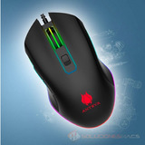 Mouse Gamer 7 Botones Rgb Led Antryx M620