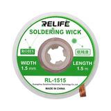 Reballing Mecha Desoldar Estaño Wick 1.5 Mm Relife