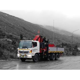 Liquidación De 03 Camiones Grúa  En Lima De Empresa Formal