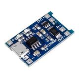 Módulo Tp4056 Cargador Baterías Litio Con Protección Dual