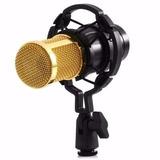 Micrófono Condensador Bm-800 Laptop Pc Youtuber +soporte+cab