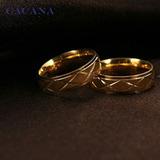 832bce1d8d5b Anillos De Boda Matrimonio Oro 18k Cristales Plata 925 Amor. Anillos y  Alianzas