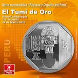 Moneda Coleccion Tumi
