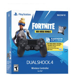 Ps4 Mando Dualshock 4 Negro + Fortnite Neo Versa Bundle Ps4