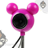 Camara Web Pc Laptop Diseño Mickey Mouse