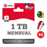 Cuentas Premium Mega 60 Días 2 Meses Oficial 1024gb Mensual