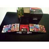 Paleta Set Kit 120 Maquillaje Sombras Labial Rubores Brochas