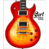 Guitarra Electrica Cort Cr Custom Crs Seymor Duncan D-carlo