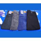 Pantalon Jeans Strech Negro, Blanco Jeans Para Caballero