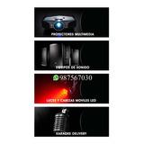Alquiler De Equipos De Sonido, Parlantes Micrófonos Luces Dj