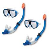 Snorkergafas Snorkel - Gafas De Buceo Máscara Piscina Buceo