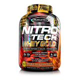 Proteína Nitrotech Whey Gold Chocolate 5.5lb