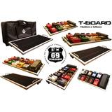 Pedal Board T-board 70x30cm (efectos,guitarra,bajo,mxr,vox)