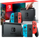 Nintendo Switch Consola Neon Blue & Red Nuevo