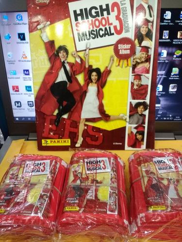 Paquetones High School Musical 3 (la Graduación) Panini