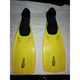 Aletas Buceo Natación Marlin Italianas, Flipper, #37 38
