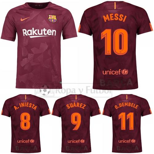 Camiseta Nike Fc Barcelona Stadium 2017 18 - Messi 10 !!! - S . 349 ... 8b30a813624