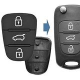 Botón De Respuesto Para Carcasa Llaves Flip Hyundai O Kia!!!