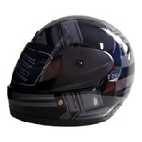 Casco De Moto Integral Shoe Black