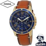 Reloj Fossil Grant Fs5268 Original Nuevo En Caja Garantía