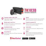 Gps Tracker Tk103b Vehicular Satelital Plataforma Gratis