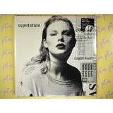 Taylor Swift | Reputation | Vinilo Doble Con Foto Impresa