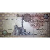 Egipto 1 Pound O Libra Completamente Nuevo !!!!!!!!