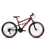 Bicicleta Best De Hombre Zeus Aro 26 Rojo/negro